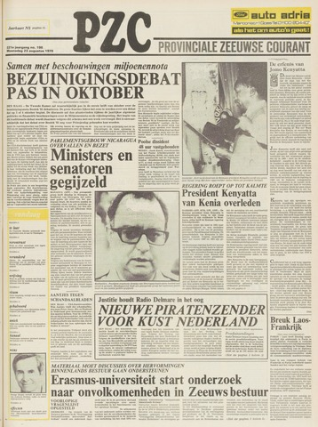 Provinciale Zeeuwse Courant 1978-08-23