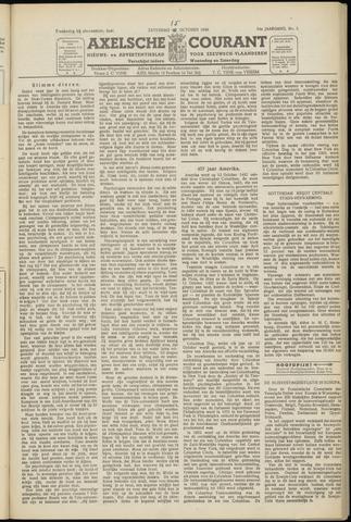 Axelsche Courant 1949-10-15