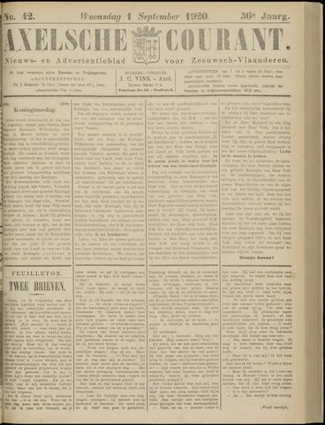 Axelsche Courant 1920-09-01