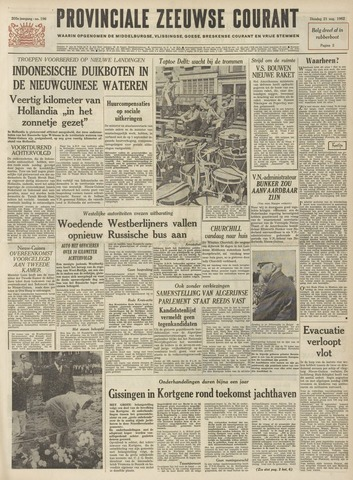 Provinciale Zeeuwse Courant 1962-08-21