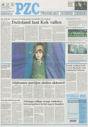 Provinciale Zeeuwse Courant 2001-12-05