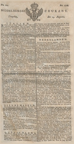 Middelburgsche Courant 1779-08-24