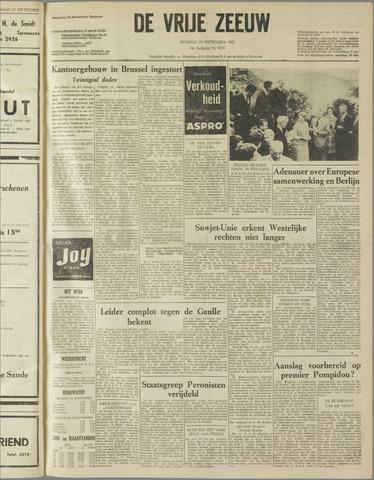 de Vrije Zeeuw 1962-09-18