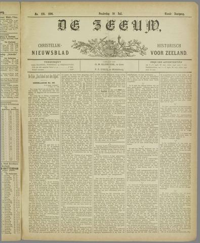 De Zeeuw. Christelijk-historisch nieuwsblad voor Zeeland 1896-07-30