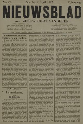 Nieuwsblad voor Zeeuwsch-Vlaanderen 1892-04-02