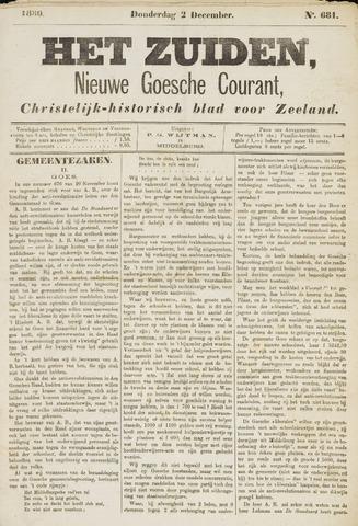 Het Zuiden, Christelijk-historisch blad 1880-12-02