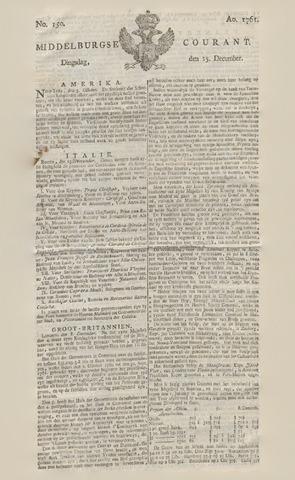 Middelburgsche Courant 1761-12-15
