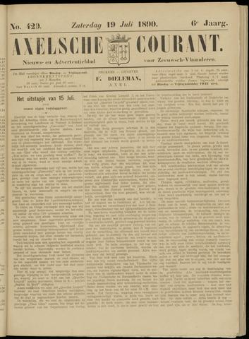 Axelsche Courant 1890-07-19