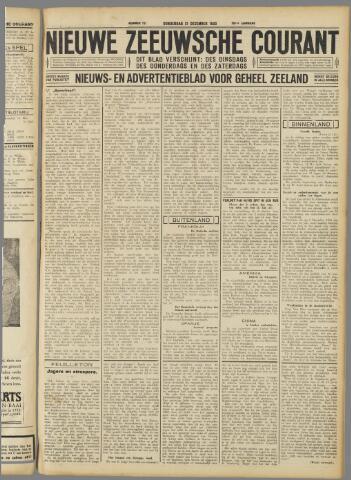 Nieuwe Zeeuwsche Courant 1933-12-21