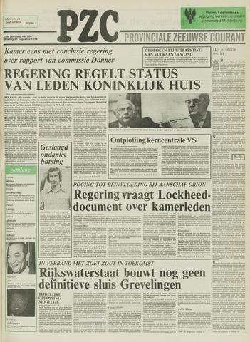 Provinciale Zeeuwse Courant 1976-08-31