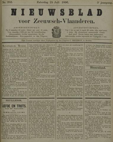 Nieuwsblad voor Zeeuwsch-Vlaanderen 1896-07-25