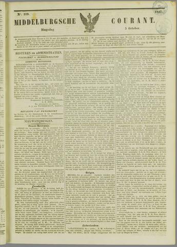Middelburgsche Courant 1847-10-05