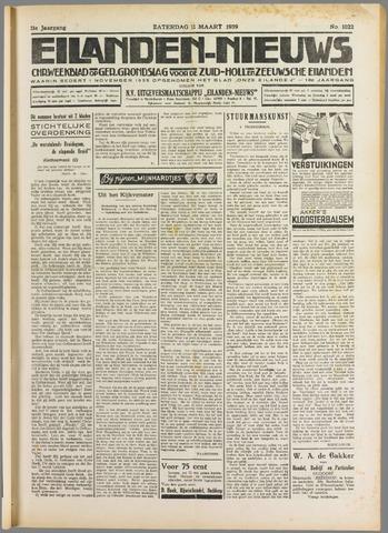 Eilanden-nieuws. Christelijk streekblad op gereformeerde grondslag 1939-03-11