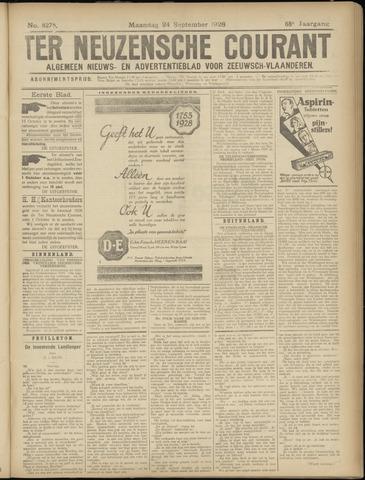 Ter Neuzensche Courant. Algemeen Nieuws- en Advertentieblad voor Zeeuwsch-Vlaanderen / Neuzensche Courant ... (idem) / (Algemeen) nieuws en advertentieblad voor Zeeuwsch-Vlaanderen 1928-09-24