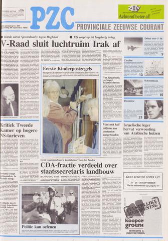 Provinciale Zeeuwse Courant 1990-09-26