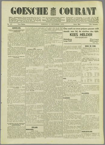 Goessche Courant 1932-11-22