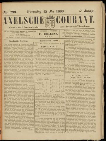Axelsche Courant 1889-05-15