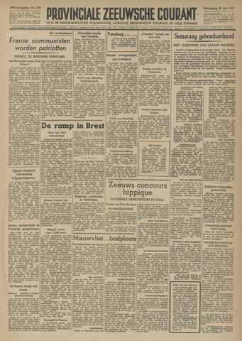 Provinciale Zeeuwse Courant 1947-07-30