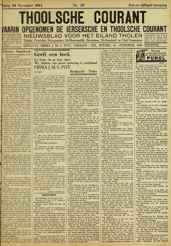 Ierseksche en Thoolsche Courant 1934-11-23