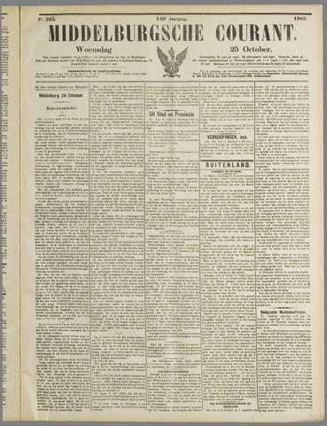 Middelburgsche Courant 1905-10-25