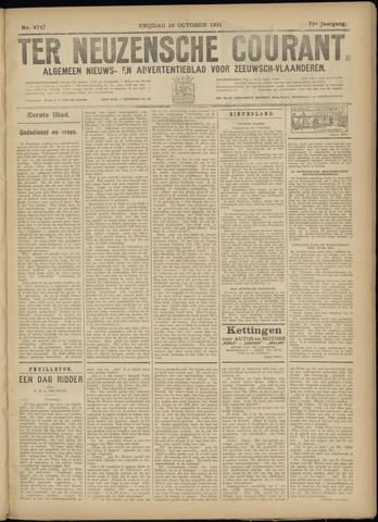 Ter Neuzensche Courant. Algemeen Nieuws- en Advertentieblad voor Zeeuwsch-Vlaanderen / Neuzensche Courant ... (idem) / (Algemeen) nieuws en advertentieblad voor Zeeuwsch-Vlaanderen 1931-10-16