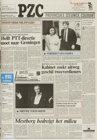 Provinciale Zeeuwse Courant 1984-11-03
