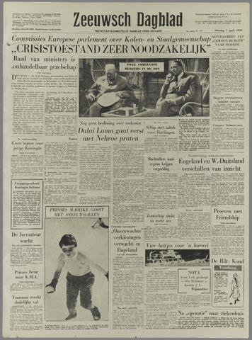 Zeeuwsch Dagblad 1959-04-07