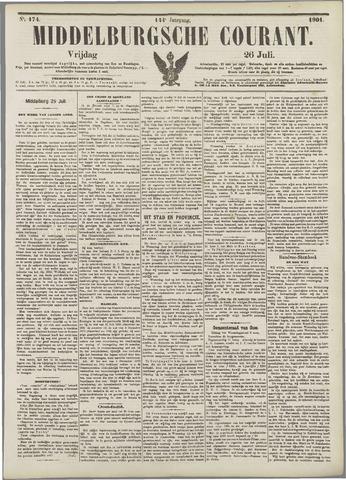 Middelburgsche Courant 1901-07-26
