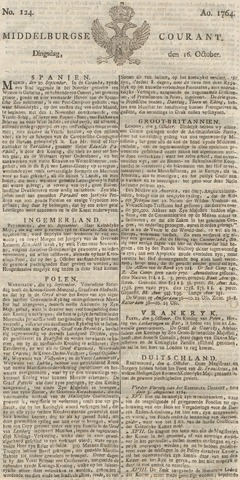 Middelburgsche Courant 1764-10-16