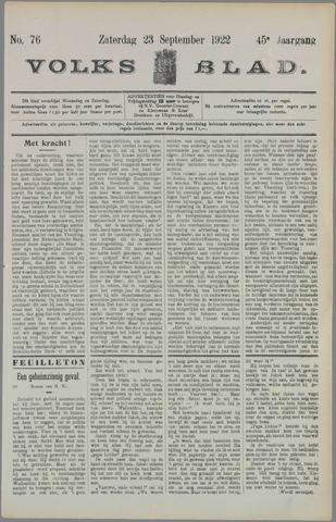 Volksblad 1922-09-23