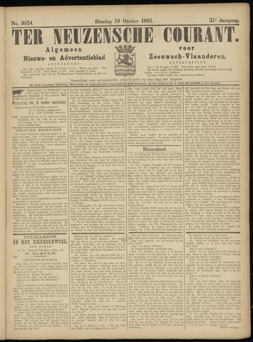 Ter Neuzensche Courant. Algemeen Nieuws- en Advertentieblad voor Zeeuwsch-Vlaanderen / Neuzensche Courant ... (idem) / (Algemeen) nieuws en advertentieblad voor Zeeuwsch-Vlaanderen 1897-10-19