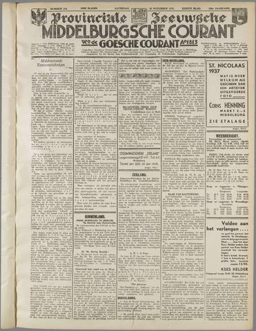 Middelburgsche Courant 1937-11-20