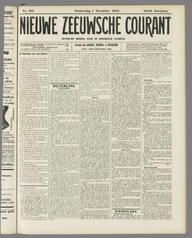 Nieuwe Zeeuwsche Courant 1907-11-07