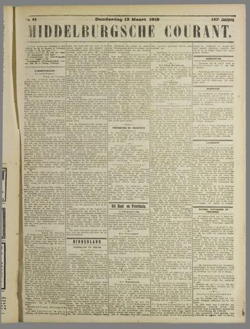 Middelburgsche Courant 1919-03-13