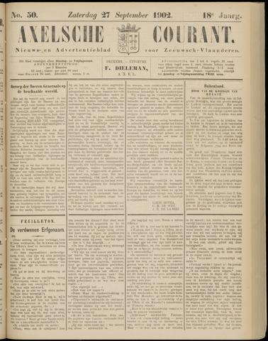 Axelsche Courant 1902-09-27