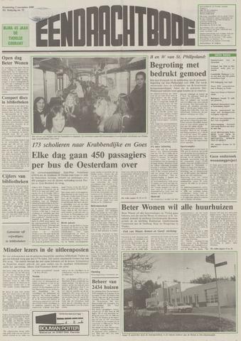 Eendrachtbode (1945-heden)/Mededeelingenblad voor het eiland Tholen (1944/45) 1989-11-02