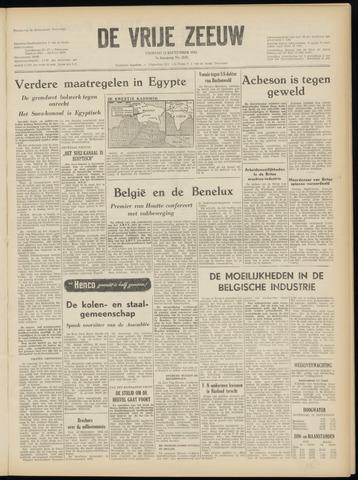 de Vrije Zeeuw 1952-09-12