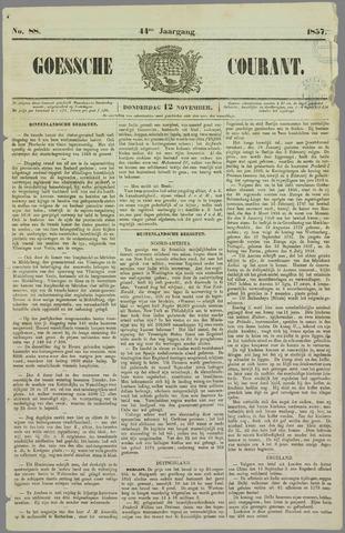 Goessche Courant 1857-11-12