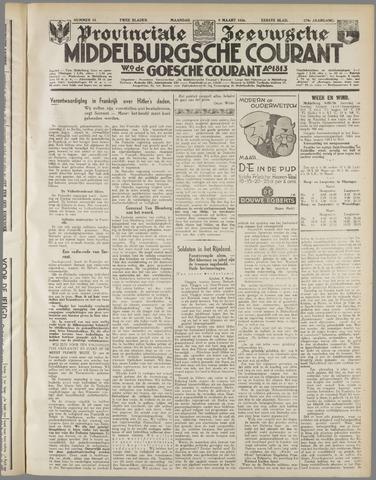 Middelburgsche Courant 1936-03-09