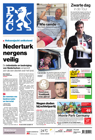 Provinciale Zeeuwse Courant 2016-07-23