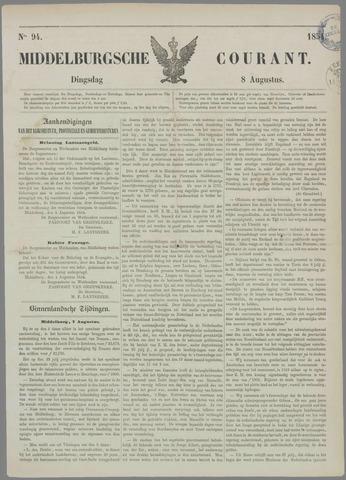 Middelburgsche Courant 1854-08-08