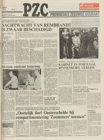 Provinciale Zeeuwse Courant 1975-09-15