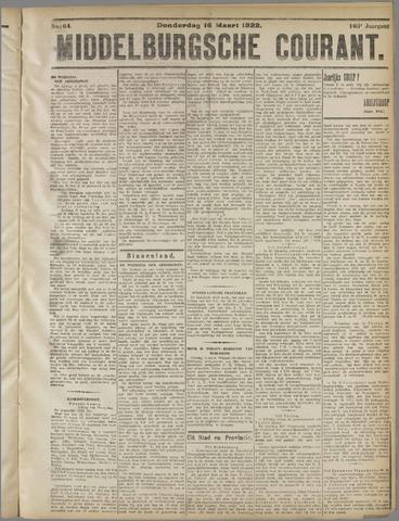 Middelburgsche Courant 1922-03-16