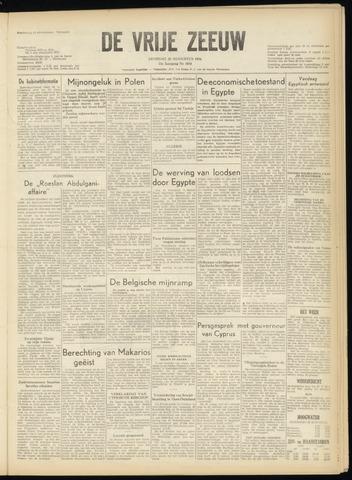 de Vrije Zeeuw 1956-08-28
