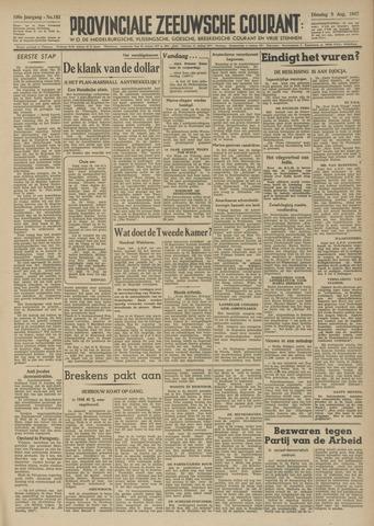 Provinciale Zeeuwse Courant 1947-08-05