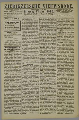 Zierikzeesche Nieuwsbode 1900-06-23