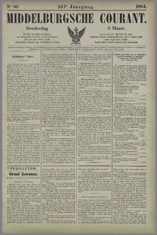 Middelburgsche Courant 1884-03-06