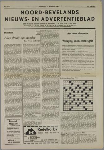 Noord-Bevelands Nieuws- en advertentieblad 1981-12-17