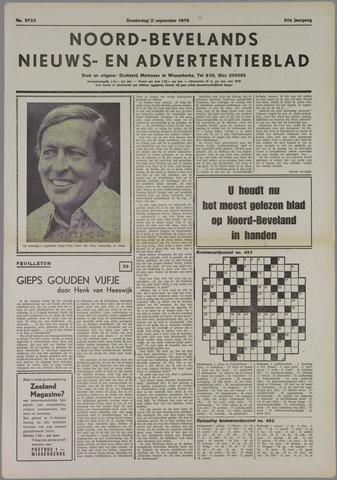 Noord-Bevelands Nieuws- en advertentieblad 1976-09-02