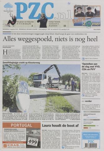 Provinciale Zeeuwse Courant 2010-08-04